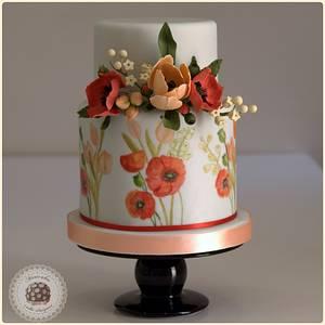 Summer dream wedding cake - Cake by Mericakes