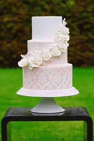 Love romantic wedding cake - Cake by Jana Candy Art