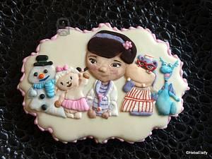 Doc McStuffins cookies. - Cake by Sweet Dreams by Heba