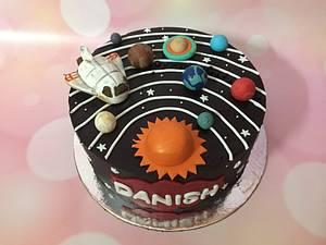 Solar system.  - Cake by Sonia Chhabda
