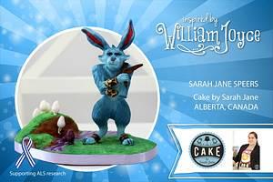 E. Aster Bunnymund Sugar Sculpture - Cake by Cake by Sarah Jane