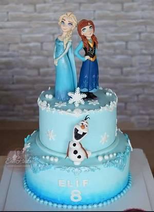 Frozen Cake - Cake by Evren Dagdeviren