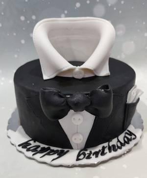 Tuxedo - Cake by Cakebake