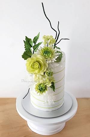 Greenery  - Cake by Dozycakes