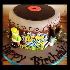 Break dancer / Skater Cake - Cake by Gill Earle