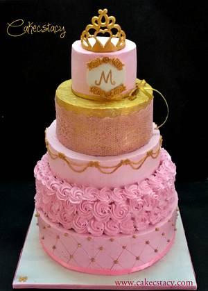 Princess Theme Birthday Cake - Cake by Prajakta Agnihotri