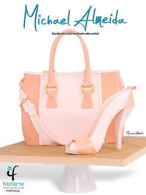 Handbag and Shoe - Cake by Michael Almeida