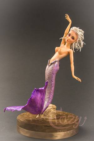 Mermaid made in Chocolate - Cake by Crazy Sweets
