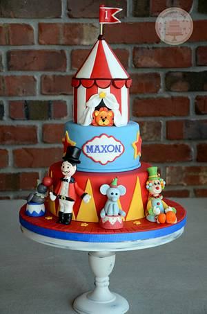 Big Top & Smash Cake - Cake by Sugarpatch Cakes