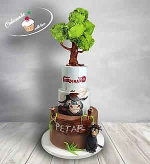 Ferdinand - Cake by Cakemake