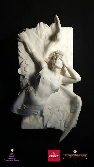 My Angel  - Cake by Fashflower's cake by Margherita Ferrara
