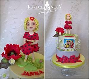 "Sweet doll ""Tanculienka"" - Cake by Tortolandia"