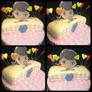 Doc  mcstuffin cake - Cake by Kirstie's cakes