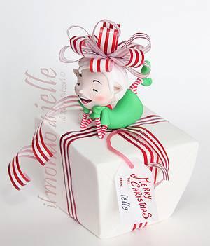 Christmas gifts Elf - Cake by il mondo di ielle