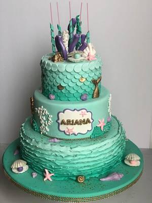 Bajo el mar - Cake by Desirée Brahim