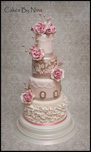 Romantic Charlotte - Cake by Cakes by Nina Camberley