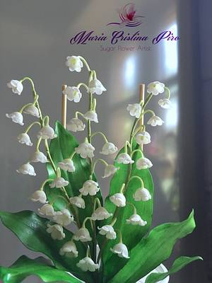 My lily of Valley  - Cake by Piro Maria Cristina