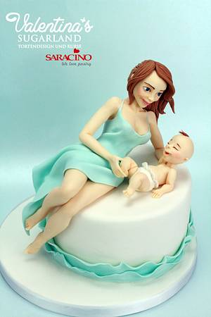 Mothers Love - Cake by Valentina's Sugarland