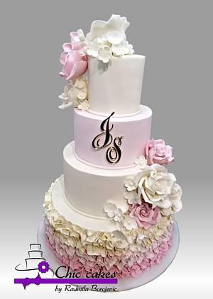Wedding cake..... - Cake by Radmila