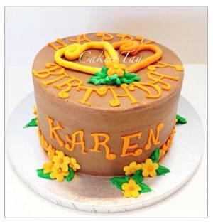 Birthday Love - Cake by Angel Chang