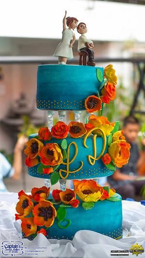 Dancer and Musician - Cake by Joy Lyn Sy Parohinog-Francisco