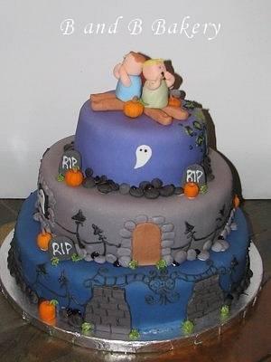 Halloween Cake - Cake by CakeLuv