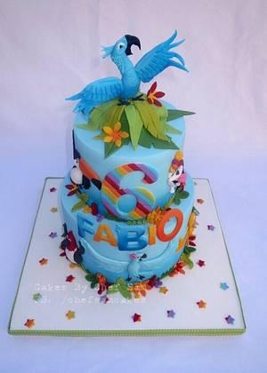 Rio cake - Cake by chefsam