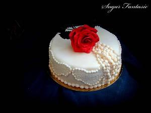 Vintage romace cake - Cake by Ildikó Dudek