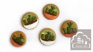 Mini Cactuses - Cake by PUDING FARM