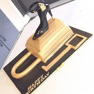 Tom Ford Shoe Cake - Cake by Bake Envy