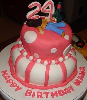 Funny Birthday Cake - Cake by Jeana Byrd