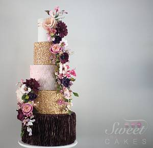 Fall Beauty - Cake by Sweet Creations Cakes