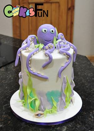Octopus cake - Cake by Cakes For Fun