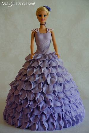 Doll cake - Cake by Magda's cakes