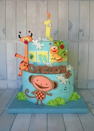 BabyTV... the wonderful world of...:) - Cake by BULGARIcAkes
