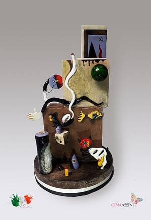 Mirò - Cake by Gina Assini