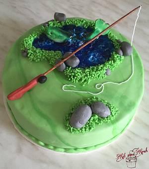Good fishing! - Cake by KaetvanKirsch