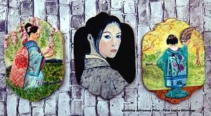 Cakeflix colaboracion  Memoirs of a Geisha - Cake by Juillett