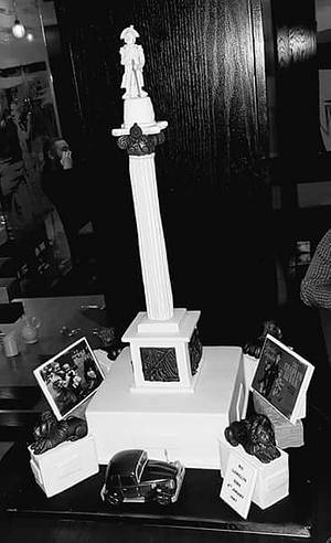 Nelsons' Column - Cake by Caked