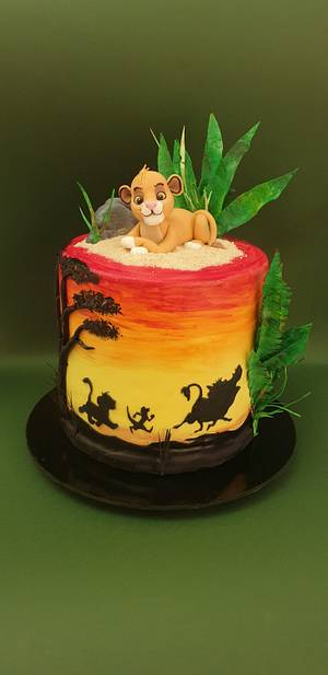 Lion king cake - Cake by iratorte
