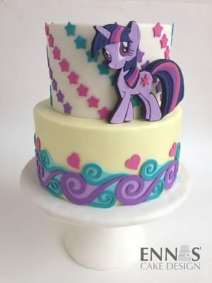My Little Pony - Twilight Sparkle - Cake by Irina - Ennas' Cake Design