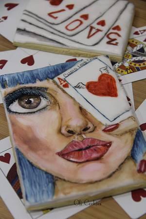 Cupid poker game - Cake by Olivera Vlah