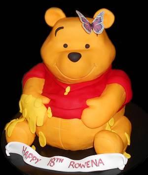 3D Winnie the Pooh - Cake by Nada