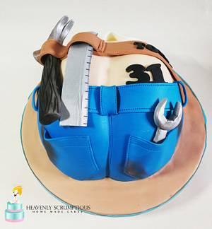 Cake for HANDYMAN :)  - Cake by Iwona Sobejko