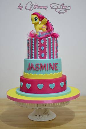 My Little Pony Cake - Cake by Mommy Sue