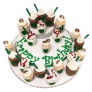 Frappy Birthday - Cake by BroadwaysBakes