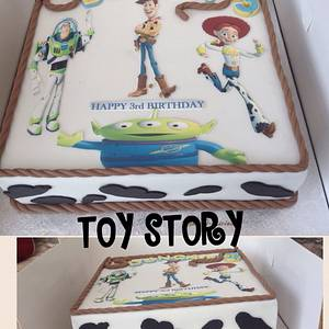 TOY STORY - Cake by Sweet Lakes Cakes