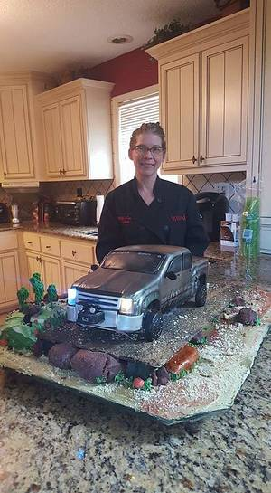 Chevy Pickup Truck Cake - Cake by Wendy Lynne Begy