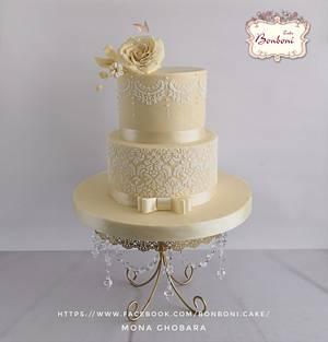 ivory - Cake by mona ghobara/Bonboni Cake