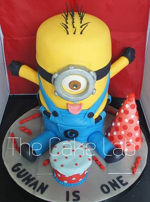 Happy Minion - Cake by Thulashitha RD